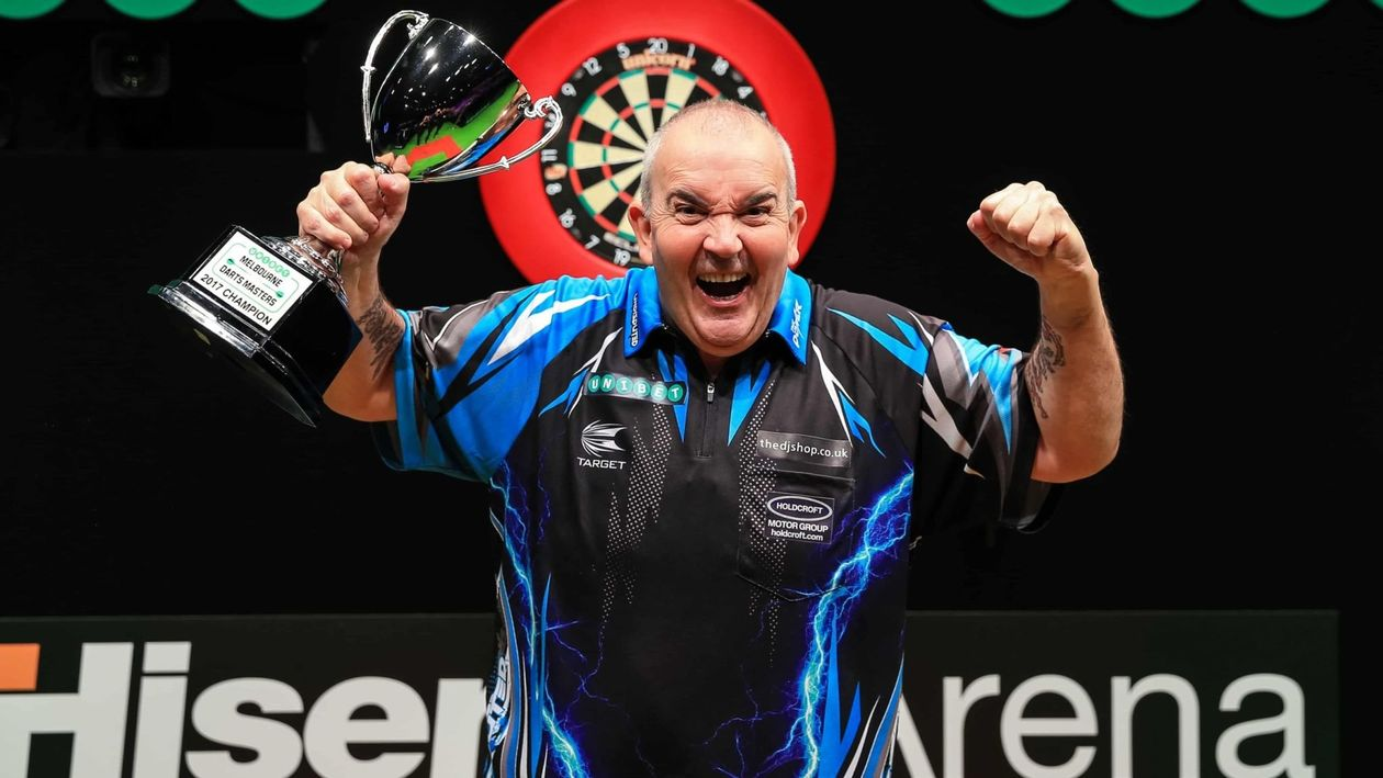 phil taylor new darts