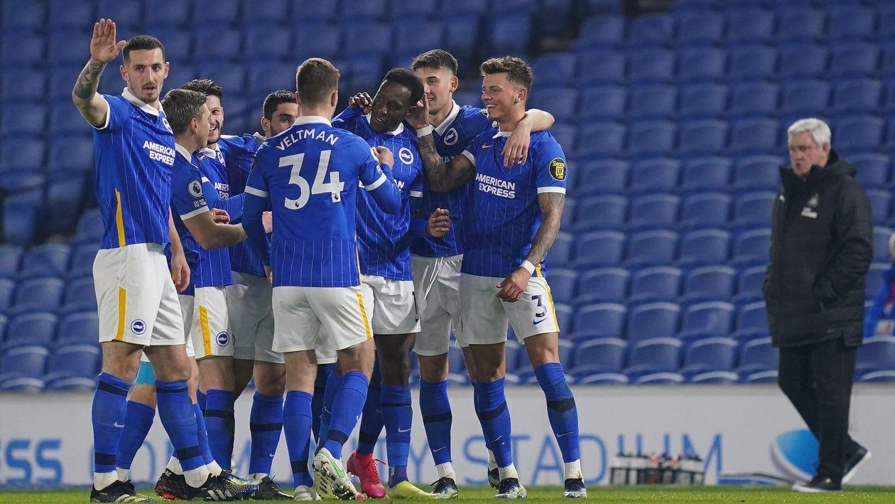 Brighton 3-0 Newcastle: Steve Bruce under pressure as Brighton win well