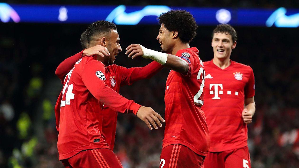 Bayern tottenham highlights