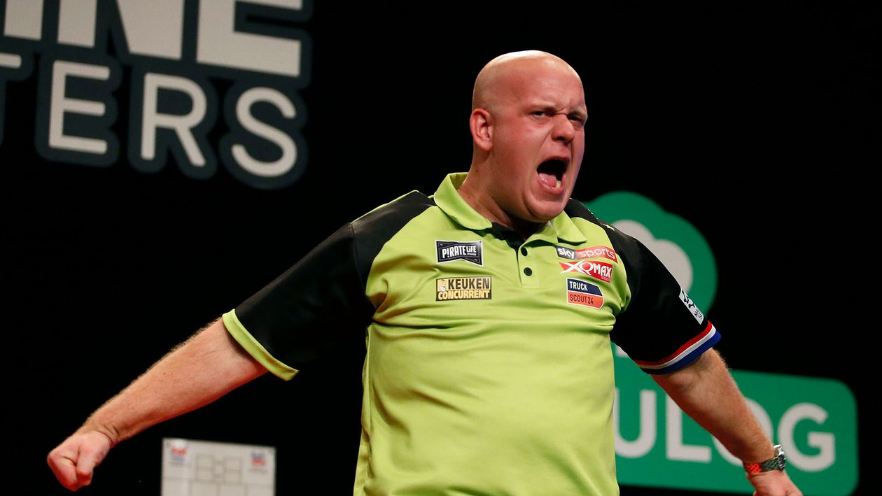 Darts Results Michael Van Gerwen Among Day One Winners At