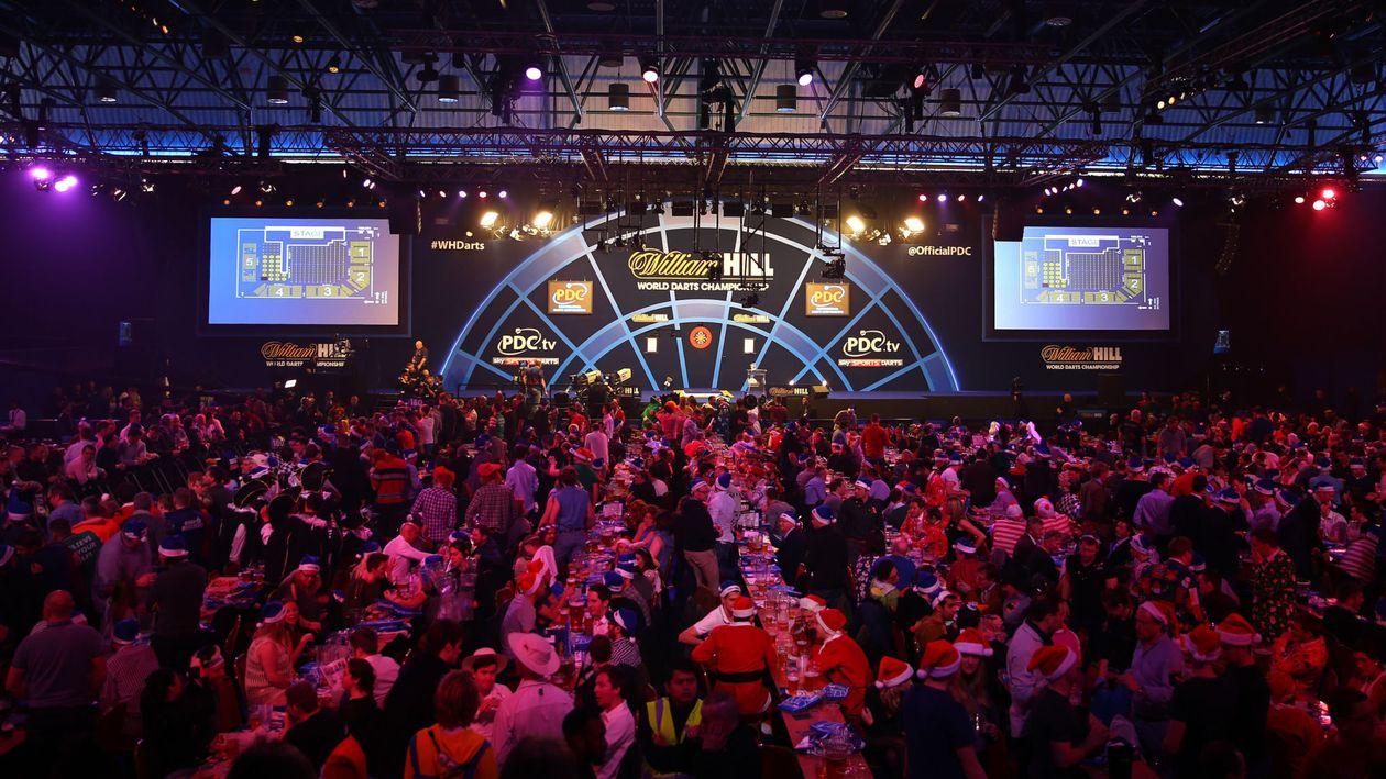 pdc world darts championship tickets