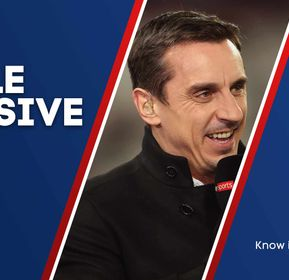 Gary Neville talks exclusively to Sporting Life