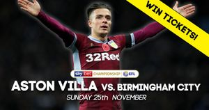 WIN Aston Villa v Birmingham tickets with our latest Sporting Life competition