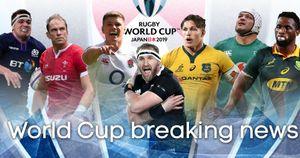 Follow the latest news, team news and injury updates from the Rugby World Cup