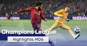 Watch all the Champions League highlights from the final group games