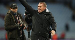 Brendan Rodgers: Pleased with another dominant Leicester City performance