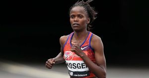 Marathon runner Brigid Kosgei has set a new world record
