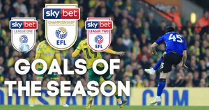 Scroll down to watch all the Goal of the Month winners from the EFL season