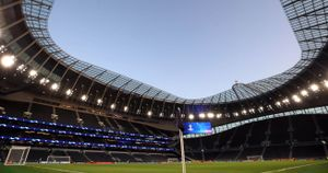 Tottenham Stadium - will host Ashes clash