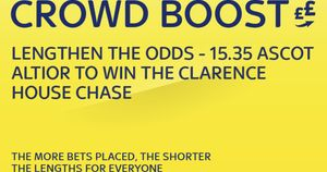 Sky Bet's Crowd Boost special
