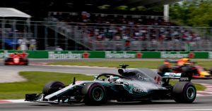 Action from the Canadian Grand Prix