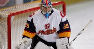 Petr Cech in action for Guildford Phoenix