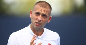Dan Evans, pictured in Florida for the Miami Open