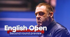 Ronnie O'Sullivan is in action on Wednesday