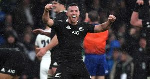 Ryan Crotty of New Zealand