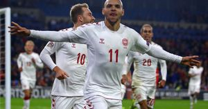 Denmark have been promoted to League A of the UEFA Nations League