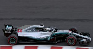 Lewis Hamilton claims his 80th pole position of his career ahead of Japanese Grand Prix