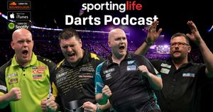 Who will win the Premier League Darts title? Scroll down to listen to our team discuss!