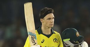 A delighted Peter Handscomb