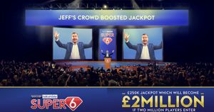 The biggest ever Super 6 Jackpot Prize is up for grabs!