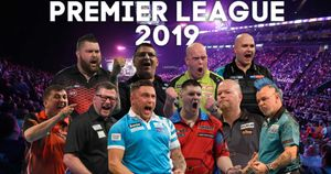 The 10-man line-up for the 2019 Premier League Darts