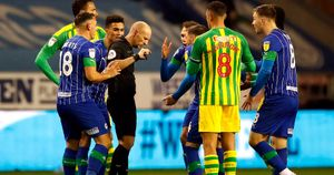 Wigan 1-1 West Brom in the Sky Bet Championship