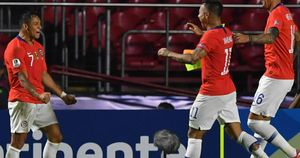 Alexis Sanchez scored his first goal since January during Chile's victory over Japan