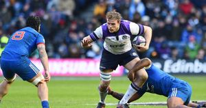 Jonny Gray is one of six changes as Scotland face South Africa
