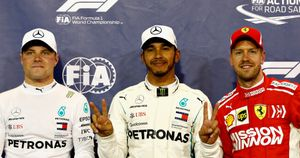 Lewis Hamilton will start from pole
