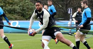 Bath winger Joe Cokanasiga has two England caps