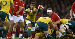 Will Genia will win his 100th cap for Australia at Twickenham