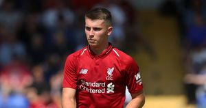 Liverpool and Wales youngster Ben Woodburn