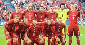 The Czech Republic will face England in Euro 2020 qualifying