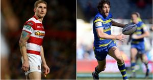 Sam Tomkins (left) and Stefan Ratchford