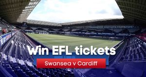 You could win tickets to Swansea's clash with rivals Cardiff