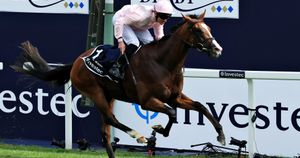 Anthony Van Dyck wins the Investec Derby