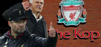 Jurgen Klopp's Liverpool take on Jose Mourinho's Manchester United at Anfield
