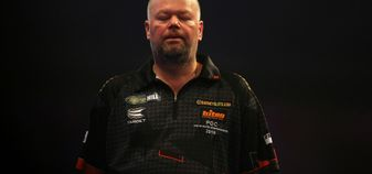 Raymond van Barneveld suffered a shock second-round exit