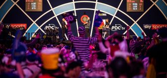 Alexandra Palace hosts the PDC World Darts Championship