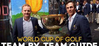 Soren Kjeldsen and Thorbjorn Olesen will defend their World Cup title this week