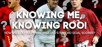 Test your Wayne Rooney knowledge with our Sporting Life quiz