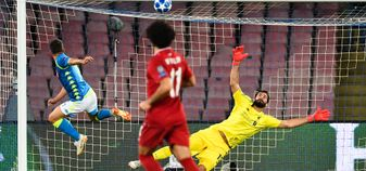 Liverpool were defeated by Napoli in their second Champions League group game of the season