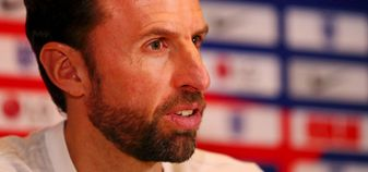 Gareth Southgate at Saturday's press conference
