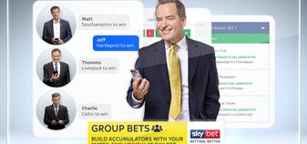 Group Bets: A new feature launched by online bookmaker Sky Bet