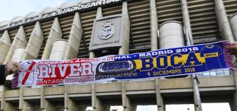 The second leg of the Copa Libertadores final will take place at the Santiago Bernabeu in Madrid