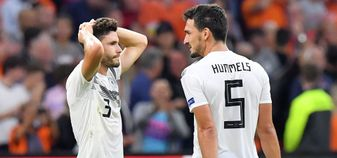 Germany have been relegated in the UEFA Nations League