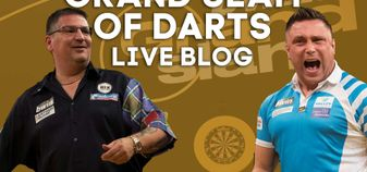 Gary Anderson and Gerwyn Price go head-to-head in the Grand Slam of Darts final