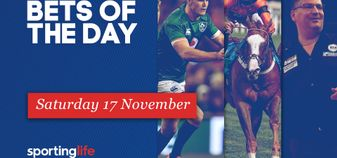 Check the Sporting Life team's best bet selections for Saturday November 17
