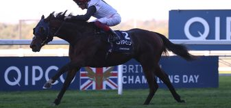 Frankie Dettori and Cracksman on their way to more Champion Stakes success
