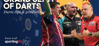 Who will make it through to the quarter-finals of the Grand Slam of Darts?